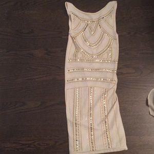 Bebe tribal print dress